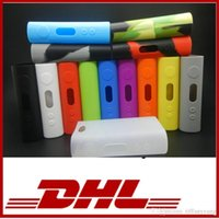 Wholesale iStick W Silicone Case iStick Skin Box Soft Silicone Rubber Cases Silicon Protective Cover Sleeve For iStick Watt Mod Bag DHL