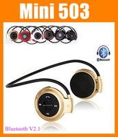 Cheap Bluetooth Headset Mini 503 Best Wireless Neckband bluetooth neckband headset