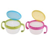 Wholesale New Kids Snack Bowl Home deocr Sweets Biscuits Cup Bowl Container Leak proof BPA Free high quality