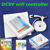 Wholesale Led Wifi Rgb Controller Dc5v ma Wifi Controller By Usb Port color Temperature And Brightness Adjustable Led Bulbs g Rgb Bulbs retail