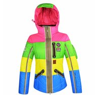 Wholesale Winter new arrival top ski suit women s windproof thermal Women ultra light down coat Christmas Gifts