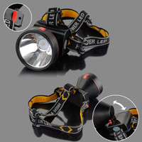 camping light - 30000 Lumens Modes Adjustable Headband Strong LED Light Rechargeable Headlight Headlamp for Camping Cycling Y0204