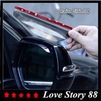 Wholesale Car Rain Shield a pair Universal New Plastic Car Rear Mirror Rain Guard Rearview mirror Rain Shield Flexible