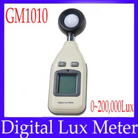 Wholesale Portable lux gauge GM1010 with backlight function