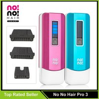 Cheap New Smart Hair Epilator No No Hair Pro 3 NoNo Hair Pro3 Hair Removal System For Men Women Refly