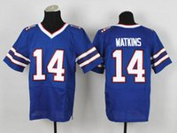 Football Men Short #14 Sammy Watkins Elite Jerseys Royal Blue American Football Jerseys #50 Kiko Alonso #3 EJ Manuel 2014 New Season Mens Sports Jerseys