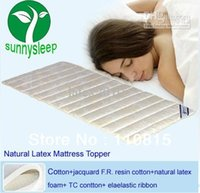 Wholesale Hotsell natural latex material dunlop Natural Latex Mattress Topper size CM