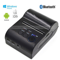 Wholesale Bluetooth POS Thermal Receipt Printer Printer Battery Display for IOS Android WP