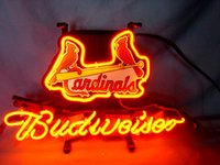 baseball signs - CARDINALS Baseball neon sign store display beer bar signs Real Neon light quot