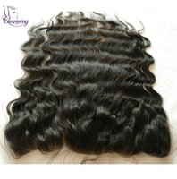 Wholesale Charmin Body Wave Free Part High Grade Indian Natural Color Hair x6 Bleached Knots Lace Closure Frontal Piece With Baby Hair