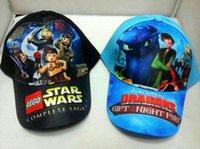 Spring / Autumn baseball training ball - New Star Wars Snapbacks Hats Darth Vader And Stormtrooper Caps Train Dragon Hat Children Baseball Hats