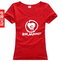 Cheap new 2014 free shipping Rise Against Tim McIlrath Hardcore Punk Rock sitcoms couple clothes woman women female sports T-shirt