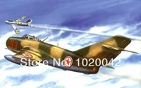 aviation art - FC03 Print on Cotton Canvas quot Mig art war aviation painting F Sabre korean war quot Home Wall Deco x36 in
