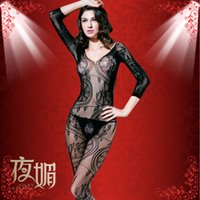 Wholesale Sexy Lingerie Sexual Stockings Suit Uniform Temptation Women s Pantyhose Coveralls Underwear For Women Adult Games Items
