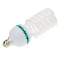 Wholesale Photographic Lighting E27 W K V Photo Studio Bulb Energy Saving Photography Daylight Lamp