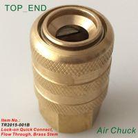 achat en gros de valve air mandrin de pneu-Gros-Open End (accréditives), Laiton origine, Air Chuck, Lock On Quick Connect, Laiton Tige, travail w / Valve Stem Tire