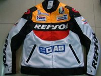 Wholesale DUHAN Moto GP motorcycle REPSOL Racing Leather Jacket high quality