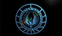 battlestar galactica - LH047 TM Battlestar Galactica Neon Light Sign Advertising led panel jpg