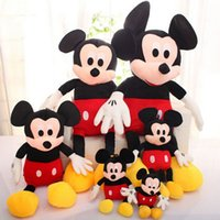 Wholesale cm Mickey Mouse And Minnie Mouse Toys Soft Toy Stuffed Animals Plush Toy dolls