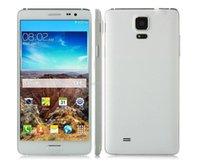 all'ingrosso star n9500-Stella N9500 MTK6582 Quad Core 5.7 pollici no logo Android4.4 ha sbloccato il telefono cellulare 1GB GPS + 8GB smartphone DHL