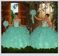 beautiful quinceaneras dresses - Beautiful Mint Green Quinceanera Dresses Popular Sweetheart Beaded Sweet Dresses Ball Gowns Vestidos De Quinceaneras