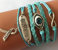 Cheap leather bangle bracelet Best charm bracelet