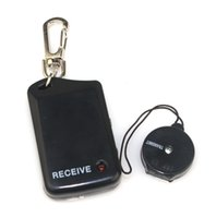 Wholesale 10pcs Wireless alarm Anti lost Anti theft Security Key Chain Finder Locator Reminder Black F2068A Alishow