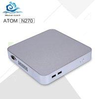 atom nettop - Low price Mini pc Atom N270L GHZ Single core two thread Micro desktop nettop windows xp windows with wifi Vga hdmi