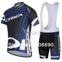 ¡NUEVO! 2014 equipo de ORBEA azul ciclo Jersey / desgaste de ciclo / ropa Jersey Ciclismo / (Bib) Shorts-ORBEA-1D envío libre