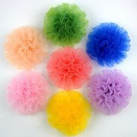 Cheap 500pcs Baby Girl Bride Peony Flower Corsage Brooch Hair Pins Female Headwear Lace Clip Hair Accessories Seaside Beach Wedding jewelry