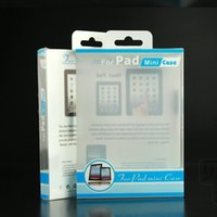Wholesale A Ipad Mini Leather Case Plastic PVC Retail Packaging Package Boxes inch Pad Tablet PC Case Retail Box Factory Price