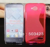 alcatel one touch mini - Alcatel One Touch Idol Mini Case S Line Soft TPU Gel Skin Cover Alcatel One Touch Idol Mini D