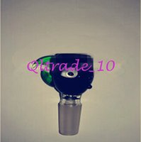 Wholesale 2015 Top Vintage Eye Ball Glass Skull Hooka Shisha for Smoking Case Nargile Water Pipe Glass Bowl and Hose Big Hookah Pipe CCA1855