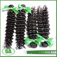 russian hair weave - Unprocessed Virgin Russian Deep Curly Hair Extension Hot Hair Virgin Russian Hair Bundles Human Hair Weaves