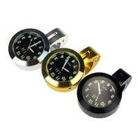 Wholesale Popular Motorcycle Accessory Handlebar Mount Clock Watch Waterproof High quality Billet Aluminum Shock Resistant Clocks A7