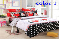 Wholesale Luruy set king queen full size bedding set duvet cover Bedding sheet bedspread pillowcase new