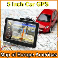 australia language - HOT inch Car GPS Navigation Sat Nav CPU800M Wince6 M GB FM Transmitter Multi languages Free latest Maps JBD GPS