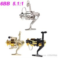 Cheap New 2015 Pesca 6BB Ball Bearings Left Right Fishing Reel Interchangeable Collapsible Handle Fishing Spinning Reel Wheel SG3000 H9846