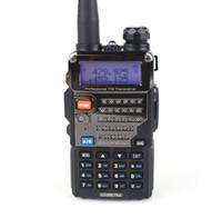 Wholesale Baofeng UV RE Walkie Talkie W Dual Band Two Way Radio CH UHF VHF FM VOX Pofung UV5RE ham radio Dual Display