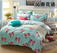 Wholesale European style x200cm cotton twill duvet cover bedding bag