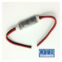 adjust brightness - Mini controller with keys manual control lighting regulator flash mode adjust the brightness input DC V V