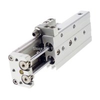 Wholesale SMC Type MXQ12 A Compact Pneumatic Air Slide Cylinder Double end adjuster