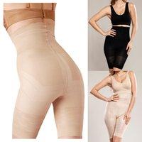 Wholesale Hot Sexy Women Body Shaper Slimming Shapewear High Waist Training Corsets Underwear Bodysuit Pants Trainer Black Beige G1008