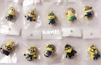Wholesale New Arrive D Despicable Me Minion Action Figure Keychain Keyring Key Ring Cute styles