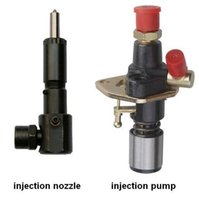 Wholesale F injection pump and nozzle together sell suit for kipor kama diesel engine
