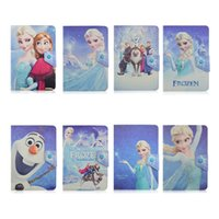 kindle 4 case - Universal Adjustable Cartoon Elsa PU Leather Stand Case Cover For inch Tablet PC MID Samsung Galaxy Tab iPad Mini Air