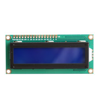 Wholesale NEW X2 Character LCD Module Display LCM HD44780 with Blue Backlight