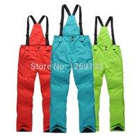 Wholesale waterproof ski pants men high quality snowboard winter women pants