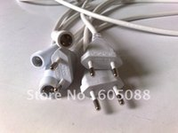 Wholesale European standard power plug with waterproof cord m long wire pins DHL