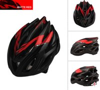 Wholesale 2014 Semigloss Red black Cycling Bike Bicycle Helmet Adult Safety Holes Channeled Vents carbon Helmet with Net Visor in stock